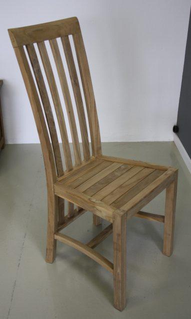 houten teak stoel