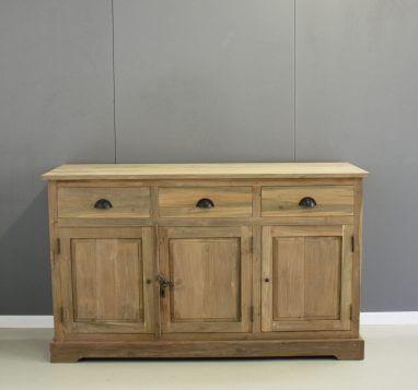 dressoir teak hout 150cm
