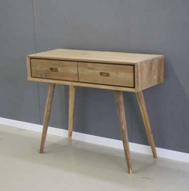 teak sidetable retromodel