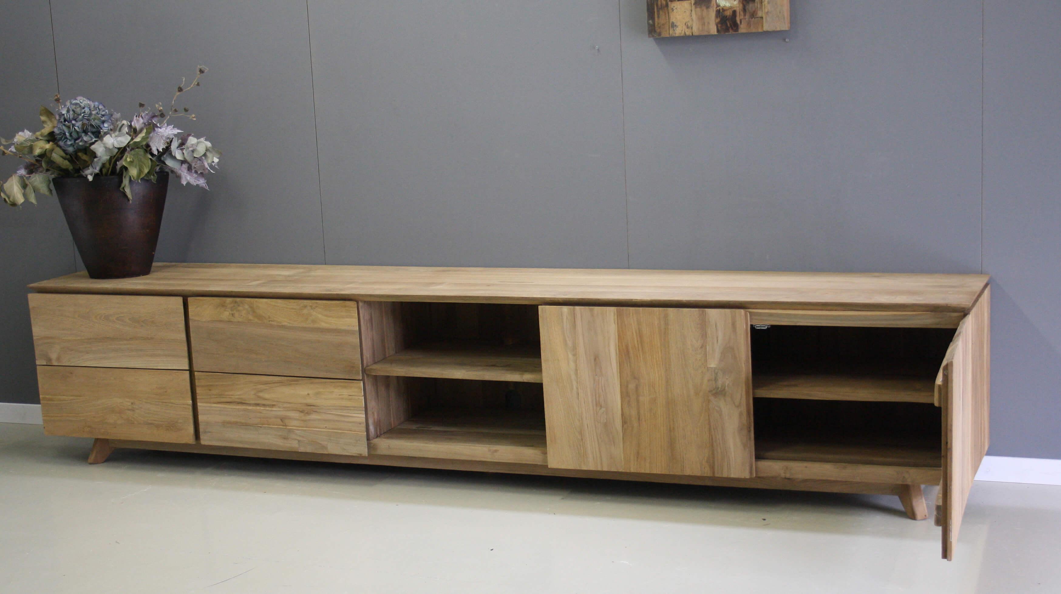 Tv Meubel Teakhout : Tv meubels indoteak