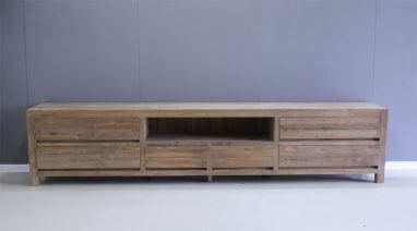 Audio Meubel Teak : Tv meubels indoteak