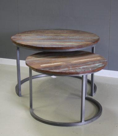 Brix collectie jimmi set van 2 tafeltjes