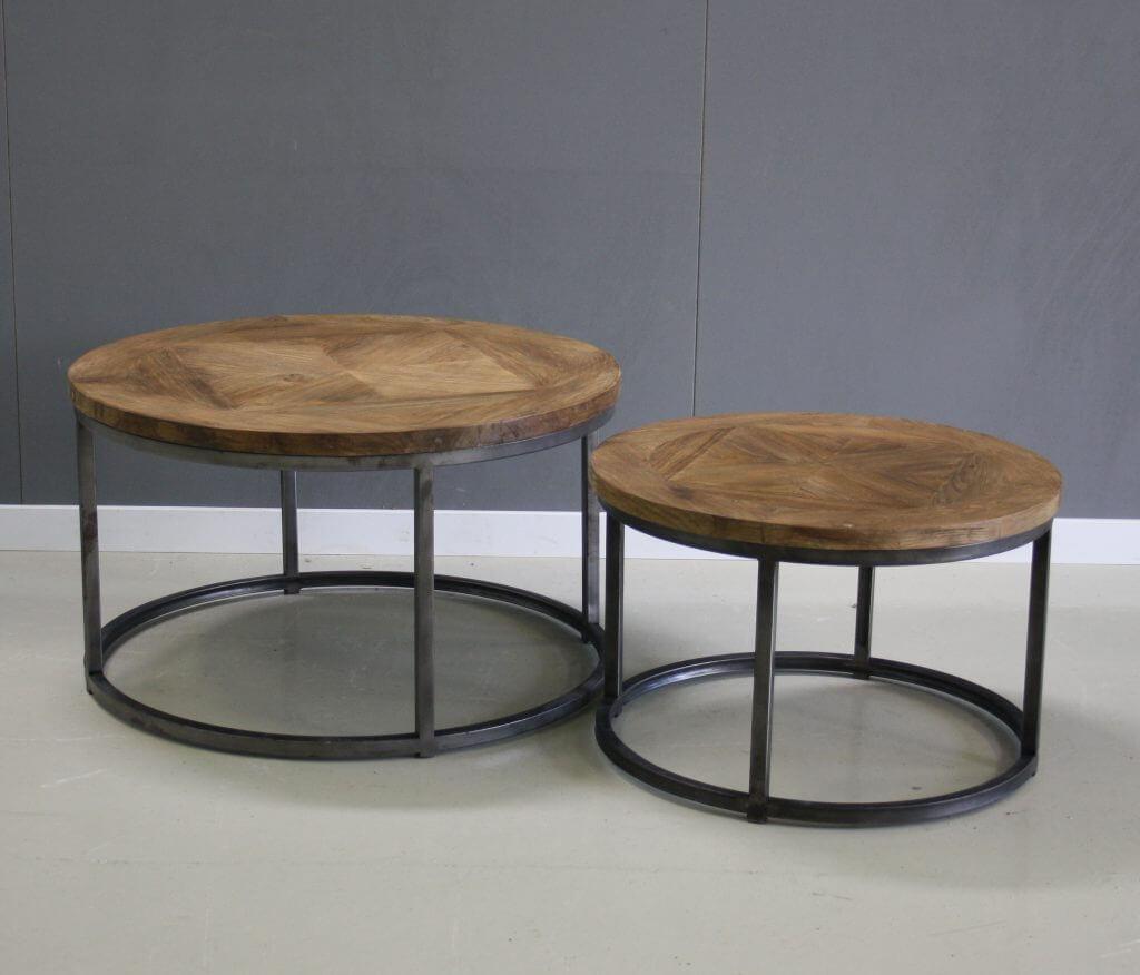 Brix collectie set van 2 tafeltjes lou