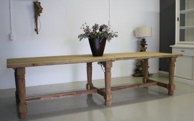 Teak tafel 3 meter