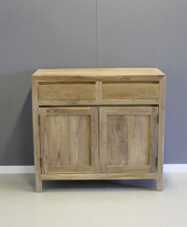Dressoir 1 Meter Breed.Teak Dressoirs Indoteak