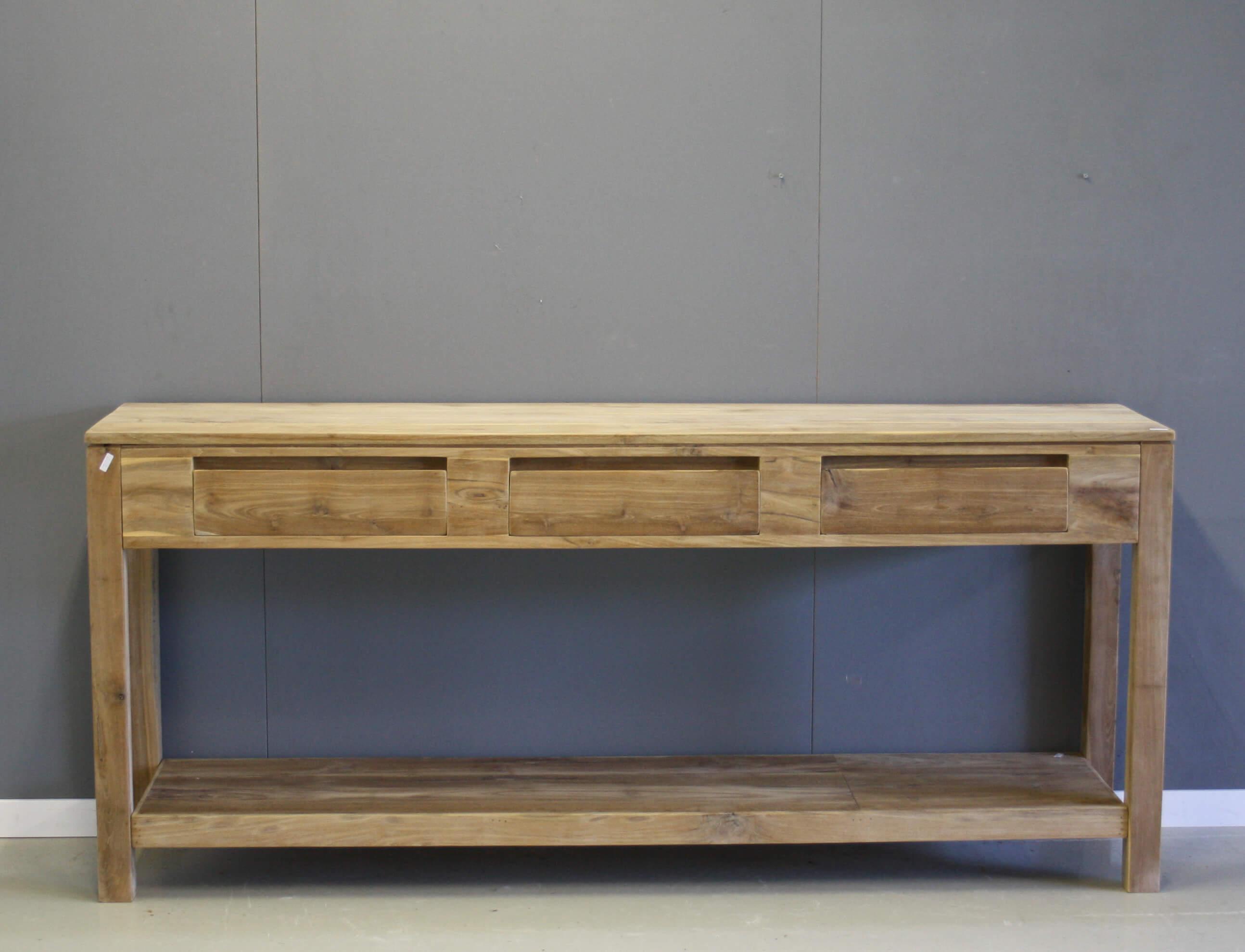 Marktplaats Sidetable Teak.Moderne Teak Sidetable 160cm Indoteak