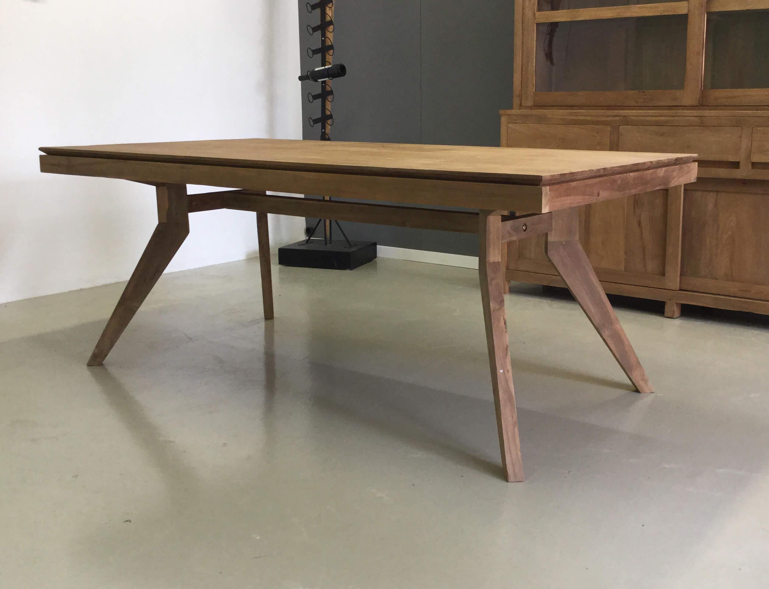 Moderne Teak Eettafel.Teak Tafel Bali Design Indoteak