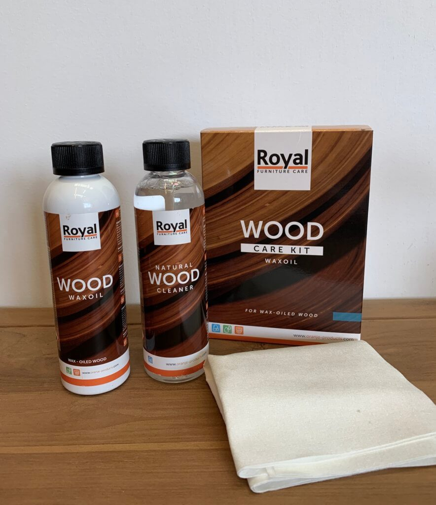 Wax oil set van Royal