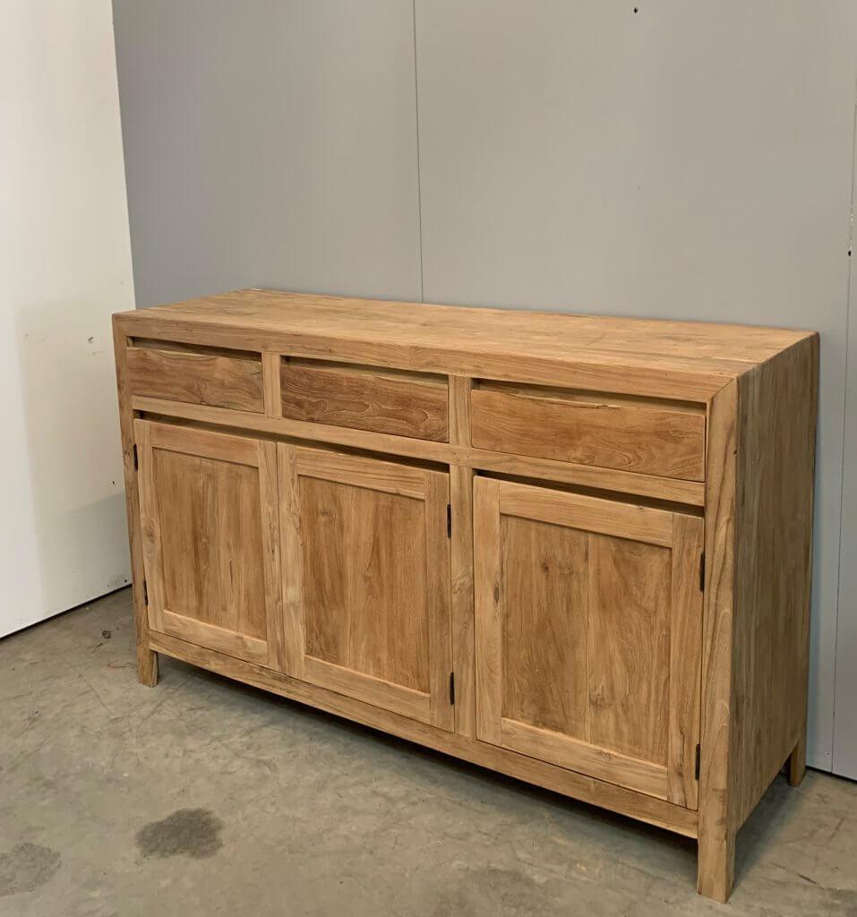 dressoir modern teakhout