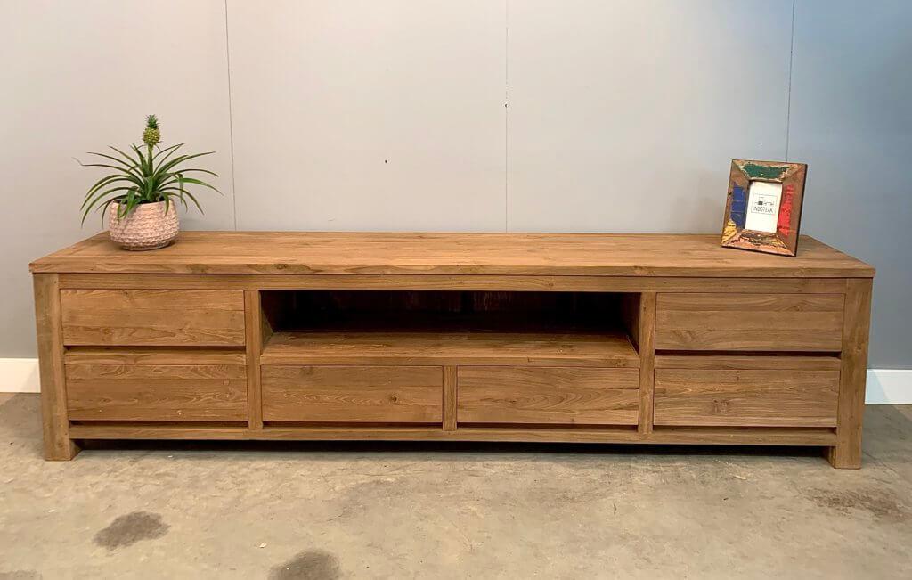 Modern tv-meubel 240 cm breed
