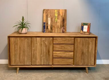 vintage indoteak dressoir