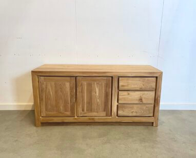 Modern tv-meubel teak